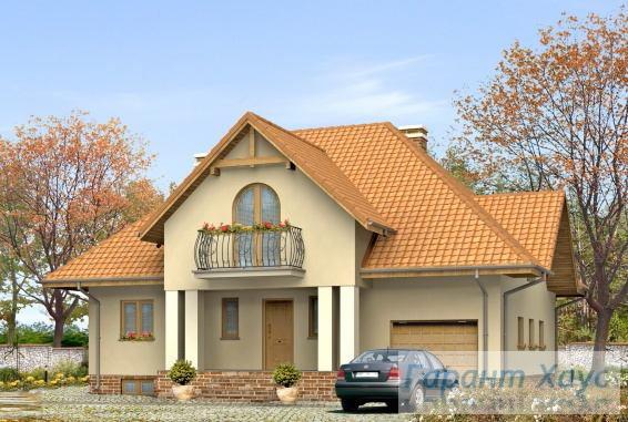Проект одноквартирного дома № 115