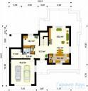 78-proekt.ru - Проект Одноквартирного Дома №23.  План Первого Этажа