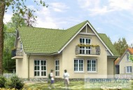 78-proekt.ru - Проект Одноквартирного Дома №225.  Вид №2