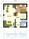 78-proekt.ru - Проект Одноквартирного Дома №179.  План Первого Этажа