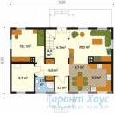 78-proekt.ru - Проект Одноквартирного Дома №278.  План Первого Этажа