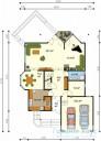 78-proekt.ru - Проект Одноквартирного Дома №255.  План Первого Этажа