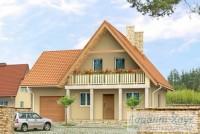 Проект одноквартирного дома № 195