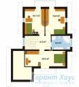 78-proekt.ru - Проект Одноквартирного Дома №159.  План Второго Этажа