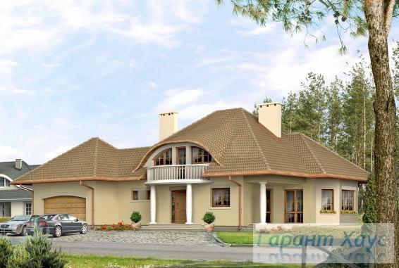 Проект одноквартирного дома № 16