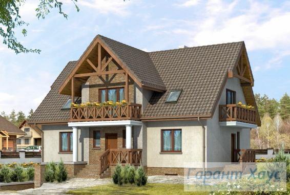 Проект одноквартирного дома № 154