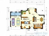 78-proekt.ru - Проект Одноквартирного Дома №8.  План Первого Этажа