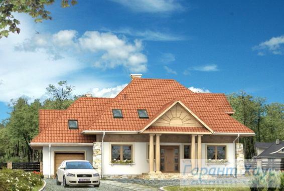 Проект одноквартирного дома № 224