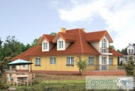 78-proekt.ru - Проект Одноквартирного Дома №324.  Вид №2