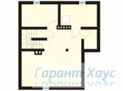 78-proekt.ru - Проект Одноквартирного Дома №290.  План Подвала
