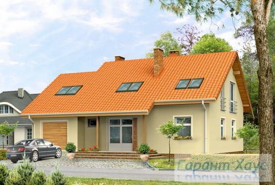 Проект одноквартирного дома № 174