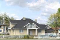Проект одноквартирного дома № 323