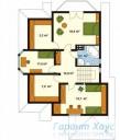 78-proekt.ru - Проект Одноквартирного Дома №107.  План Второго Этажа