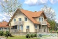 78-proekt.ru - Проект Одноквартирного Дома №59.  Вид №2