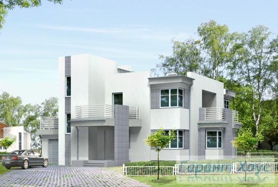Проект одноквартирного дома № 164