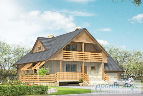 Проект одноквартирного дома № 120