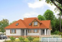 Проект двухквартирного дома № 22