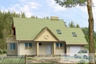 78-proekt.ru - Проект Одноквартирного Дома №274.  Вид №1