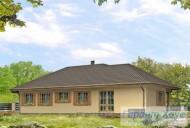 78-proekt.ru - Проект Одноквартирного Дома №251.  Вид №2
