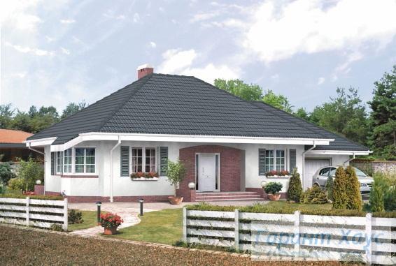 Проект одноквартирного дома № 123