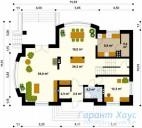78-proekt.ru - Проект Одноквартирного Дома №24.  План Первого Этажа