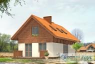 78-proekt.ru - Проект Одноквартирного Дома №332.  Вид №2