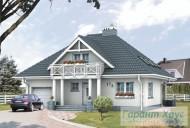 78-proekt.ru - Проект Одноквартирного Дома №66.  Вид №1