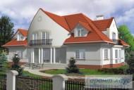78-proekt.ru - Проект Двухквартирного Дома №20.  Вид №2