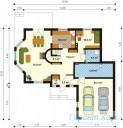 78-proekt.ru - Проект Одноквартирного Дома №44.  План Первого Этажа