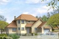 78-proekt.ru - Проект Одноквартирного Дома №105.  Вид №1