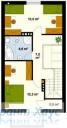 78-proekt.ru - Проект Одноквартирного Дома №332.  План Второго Этажа