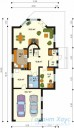 78-proekt.ru - Проект Одноквартирного Дома №45.  План Первого Этажа