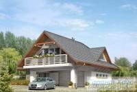 Проект дачного дома № 15