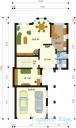 78-proekt.ru - Проект Одноквартирного Дома №46.  План Первого Этажа