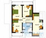 78-proekt.ru - Проект Одноквартирного Дома №252.  План Второго Этажа