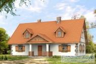 78-proekt.ru - Проект Одноквартирного Дома №343.  Вид №1