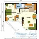 78-proekt.ru - Проект Одноквартирного Дома №281.  План Первого Этажа