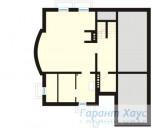 78-proekt.ru - Проект Одноквартирного Дома №148.  План Подвала