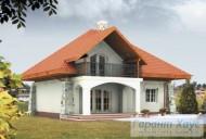 78-proekt.ru - Проект Одноквартирного Дома №83.  Вид №2