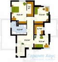 78-proekt.ru - Проект Одноквартирного Дома №164.  План Второго Этажа