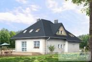 78-proekt.ru - Проект Одноквартирного Дома №318.  Вид №2