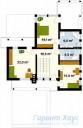 78-proekt.ru - Проект Одноквартирного Дома №163.  План Второго Этажа