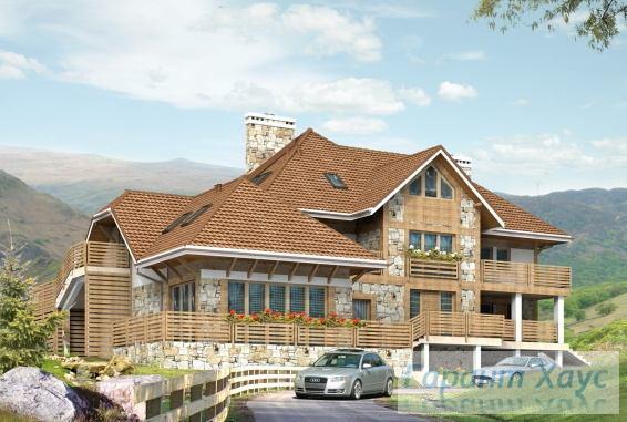 Проект одноквартирного дома № 77