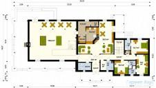 78-proekt.ru - Проект Гостиницы №4.  План Первого Этажа