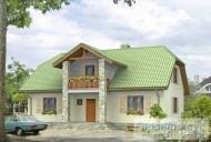 78-proekt.ru - Проект Одноквартирного Дома №2.  Вид №1