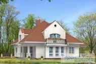78-proekt.ru - Проект Одноквартирного Дома №215.  Вид №2