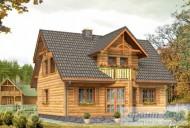 78-proekt.ru - Проект Одноквартирного Дома №172.  Вид №2