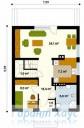 78-proekt.ru - Проект Одноквартирного Дома №161.  План Первого Этажа
