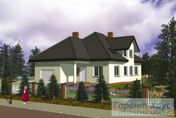 Проект одноквартирного дома № 316