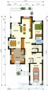 78-proekt.ru - Проект Одноквартирного Дома №263.  План Первого Этажа